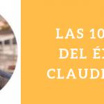 LAS 10 CLAVES DEL ÉXITO DE CLÁUDIO INÁCIO POR CLÁUDIO INÁCIO