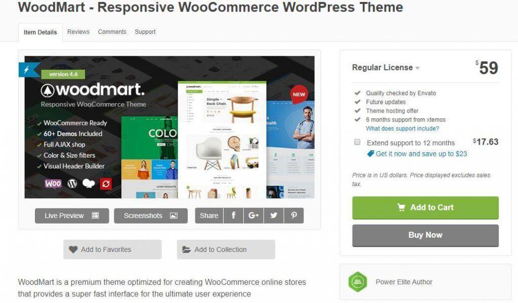 mejor tema wordpress para tienda online gratis